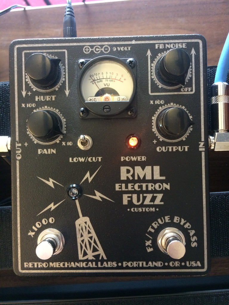 Retro Mechanical Labs Electron Fuzz Custom