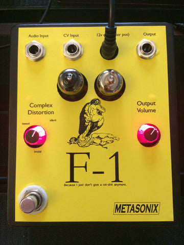 Metasonix F-1 Complex Distortion pedal *No Original Box
