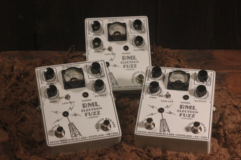 Retro Mechanical Labs Fuzz Custom Nuclear Winter White