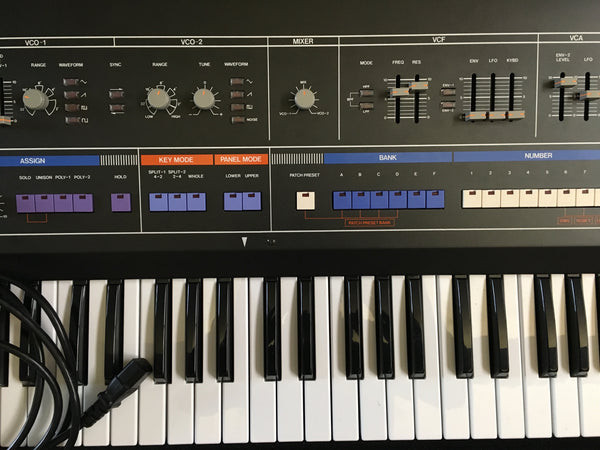 Roland Jupiter 6 with Europa Mod vintage USED