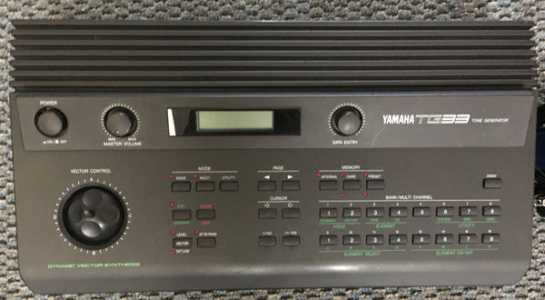 Yamaha TG33 used/consignment