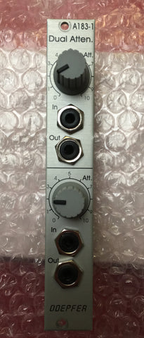Doepfer a 183-1 dual attenuator Used