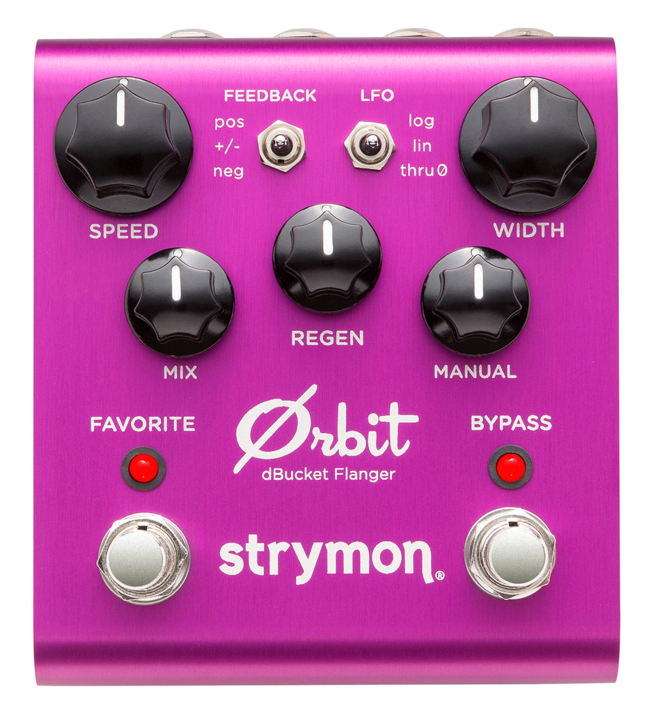 Strymon Orbit dbucket Flanger Instock Call/email to order!