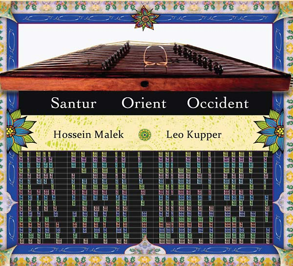Hossein Malek/Leo Kupper: Santur Orient Occident CD