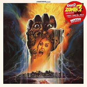 Stefano Mainetti  Zombi 3 soundtrack LP