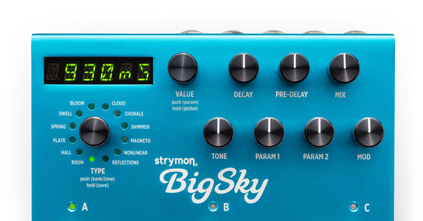 Strymon Big Sky Multi Dimensional reverb - IN STOCK CALL TO ORDER