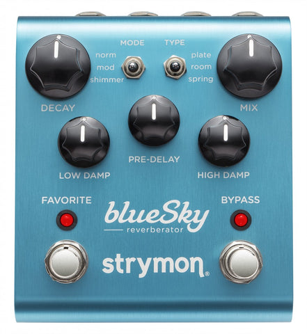 Strymon BlueSky Reverb Pedal - in stock call to order!