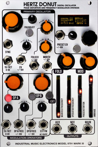 Industrial Music Electronics Hertz Donut Mark III - in stock!