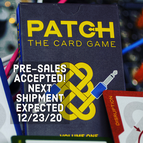 PATCH: The Card Game (In Stock!)