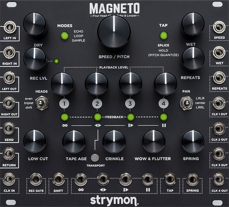 Strymon Magneto Eurorack Delay -  IN STOCK CALL TO ORDER