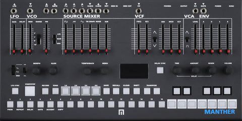 Malekko Manther Desktop Synth