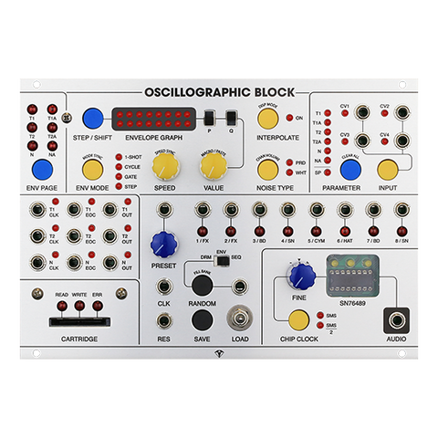 SPECIAL STAGE SYSTEMS – OSCILLOGRAPHIC BLOCK