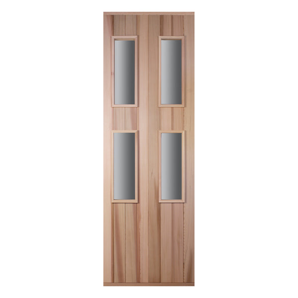 Cedar Four Window Door