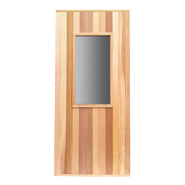 Commercial Cedar Door with Window
