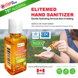 ELITEMED HAND SANITIZER 100 ml - Pack of 9