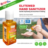 ELITEMED HAND SANITIZER-100 ml MADE IN CANADA