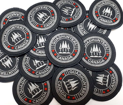 QuadHunters Collective Sew-on Embroidered Patches