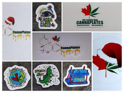CannaPlates OG Stickers