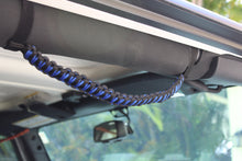 Paracord Grab Handles - Blue Pair