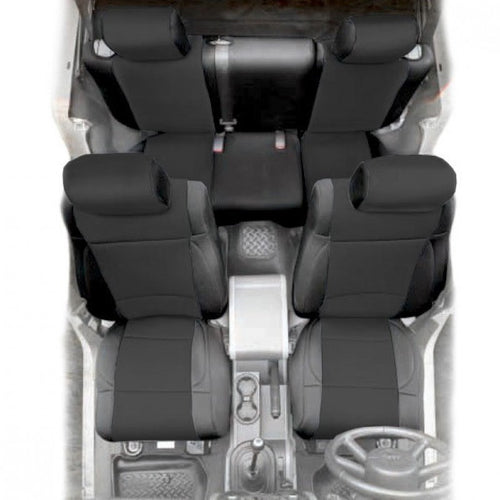 Neoprene Front and Rear Seat Cover Kit - 4 Door Models