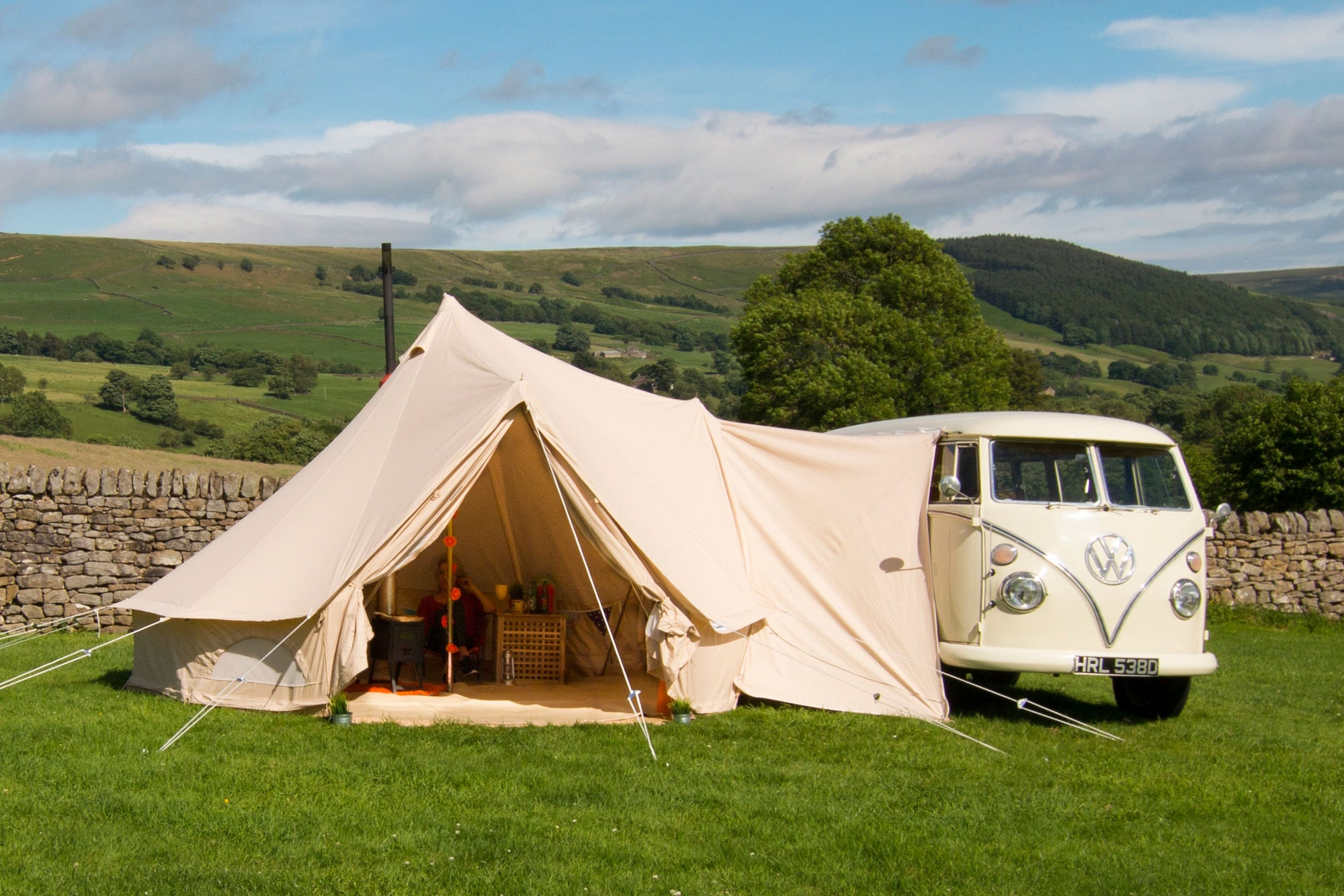 Seize the Dales!  Best Campervan Campsites in Yorkshire