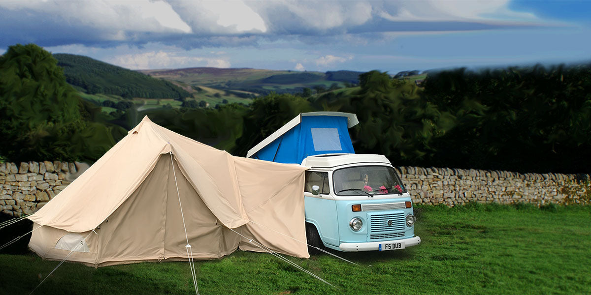 Read more & Glawning | Glamorous Driveaway Bell Tent Awnings u2013 glawning