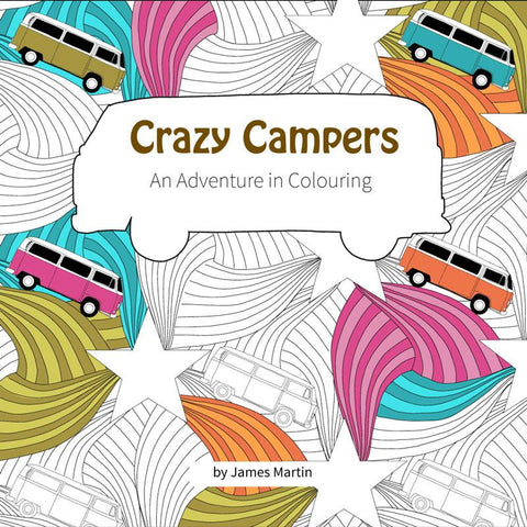 Crazy Campers Colouring Book