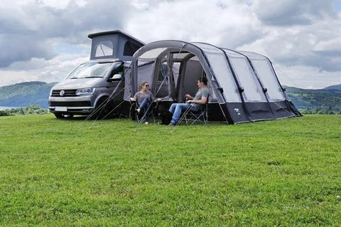 Driveaway Awning in use