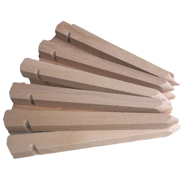 Stand out from the camping crowd with our retro hard wood peg set, for use with your awning or tent.. By glawning.com