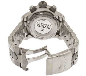 Invicta Venom Men's 54mm Tinted Crystal Stainless Swiss Chronograph Watch 0967-Klawk Watches