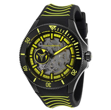 Load image into Gallery viewer, TechnoMarine Cruise Shark Automatic Men's 47mm Black / Yellow Watch TM-118026-Klawk Watches