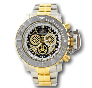 Invicta Sea Hunter Men's Full 70mm Gold-Tone Swiss Chronograph Watch 22131-Klawk Watches