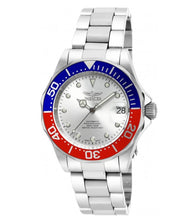 Load image into Gallery viewer, Invicta Pro Diver Automatic Men's 40mm Silver Dial Pepsi Bezel Watch 17041-Klawk Watches