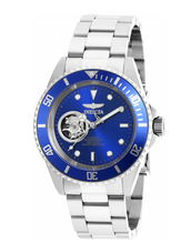 Load image into Gallery viewer, Invicta Pro Diver Automatic Mens 40mm Open-Heart Blue Dial Stainless Watch 20434-Klawk Watches