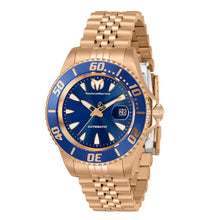 Load image into Gallery viewer, TechnoMarine Sea Manta Automatic Womens 38mm Rose Gold Blue Dial Watch TM-219066-Klawk Watches