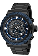 Load image into Gallery viewer, Invicta Bolt Men's 50mm Anatomic Dial Black Stainless Chronograph Watch 27808-Klawk Watches