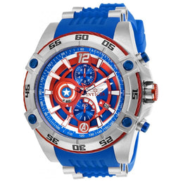 Invicta Marvel Captain America Mens 52mm Limited Edition Chronograph Watch 26780-Klawk Watches