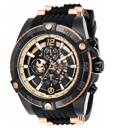 Invicta Marvel Ironman Men's 52mm Limited Rose Gold Chronograph Watch 26798-Klawk Watches