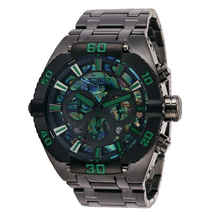Load image into Gallery viewer, Invicta Coalition Forces Men's 50mm Abalone Dial Chronograph Watch 27262 Rare-Klawk Watches