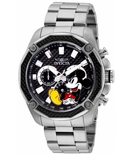 Invicta Disney Limited Edition Men's 48mm Carbon Fiber Chronograph Watch 27351-Klawk Watches