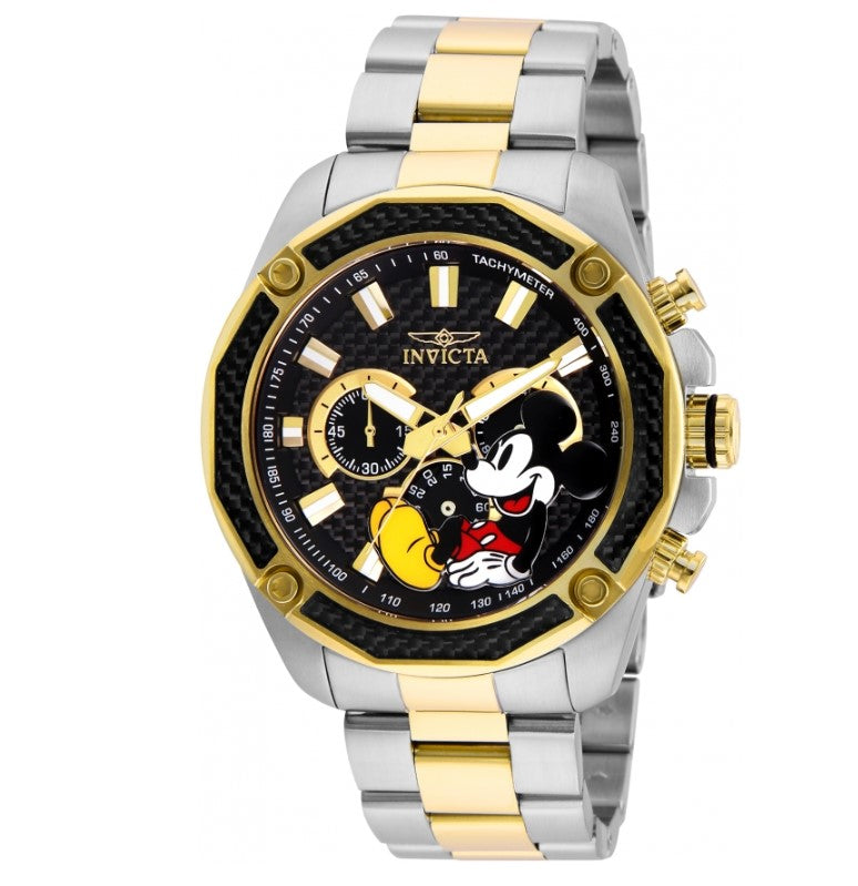 Invicta Disney Limited Edition Men's 48mm Carbon Fiber Chronograph Watch 27359-Klawk Watches