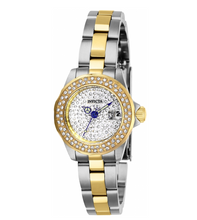 Load image into Gallery viewer, Invicta Angel Mini Women's 24mm Pave Crystal Dial Two-Tone Quartz Watch 28454-Klawk Watches