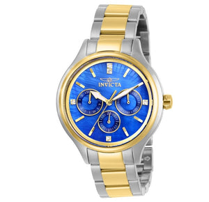 Invicta Angel Women's 38mm Blue Mother of Pearl Dial Multi-Function Watch 28738-Klawk Watches