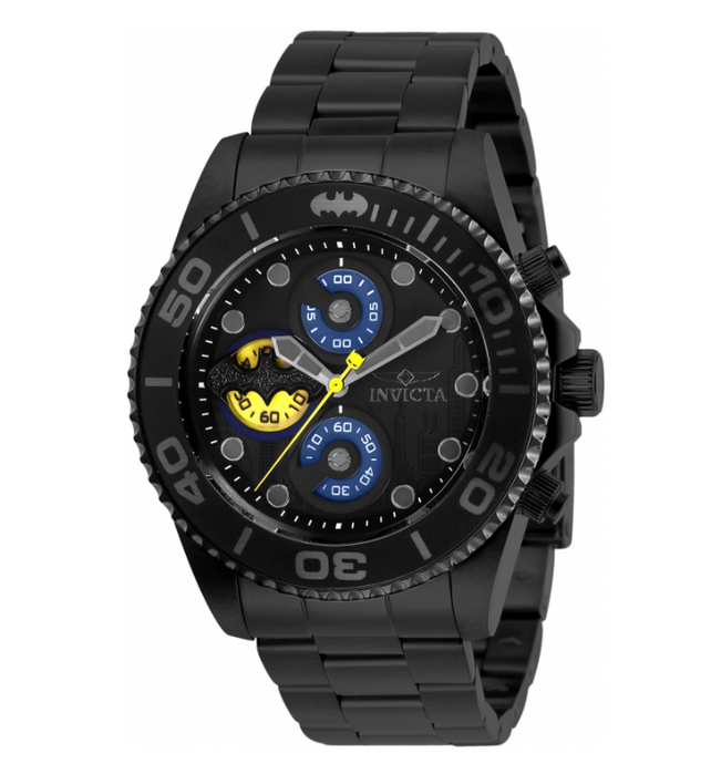 Invicta DC Comics Batman Men's 43mm Limited Edition Chronograph Watch 29061 Rare-Klawk Watches