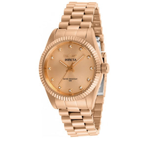 Invicta Specialty Women's 36mm Rose Gold Stainless Crystal Quartz Watch 29513-Klawk Watches