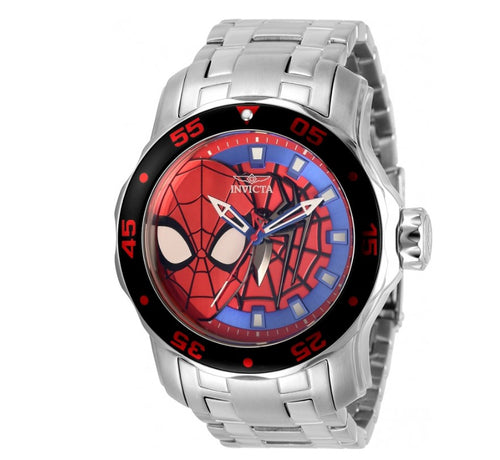 Invicta Marvel Spiderman Men's 48mm Limited Edition Pro Diver Quartz Watch 32418-Klawk Watches