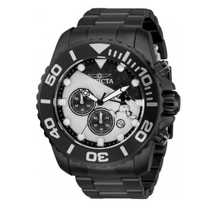 Invicta Disney Limited Edition Mens 50mm Gunmetal Mickey Chronograph Watch 32444-Klawk Watches