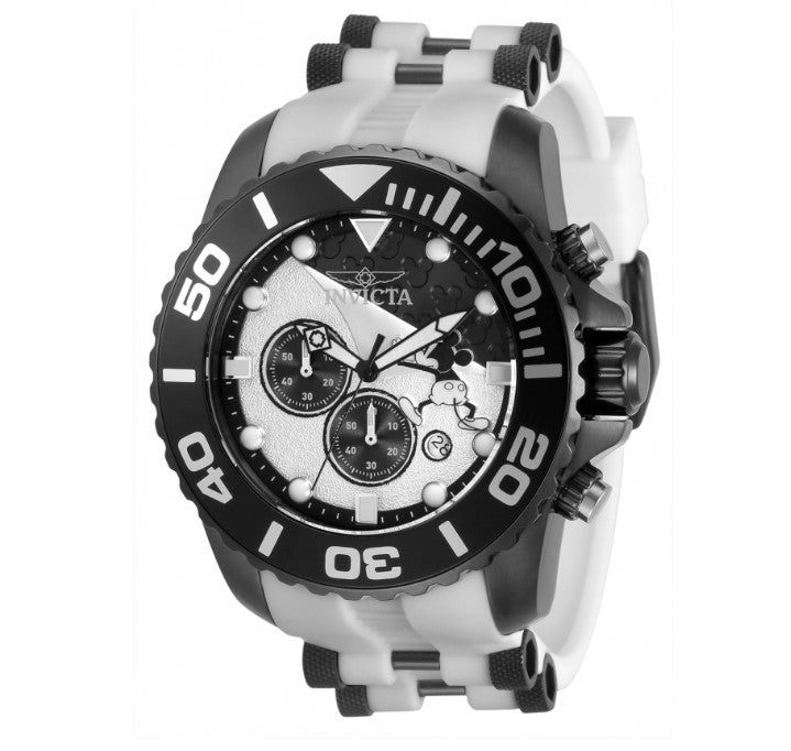 Invicta Disney Limited Edition Men's 50mm White Mickey Chronograph Watch 32478-Klawk Watches