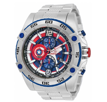 Load image into Gallery viewer, Invicta Marvel Captain America Mens 52mm Limited Edition Chronograph Watch 32501-Klawk Watches