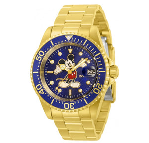 Invicta Disney Automatic Men's 40mm Limited Edition Blue Mickey Dial Watch 32506-Klawk Watches